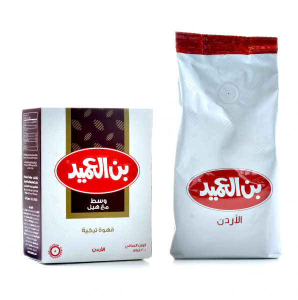 alameed Arabic coffee medium with cardamom 200 g