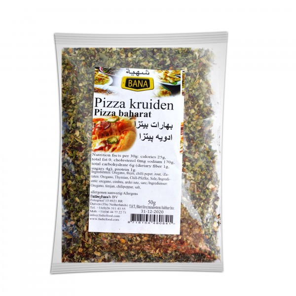 Bana Pizza's spices 50 g