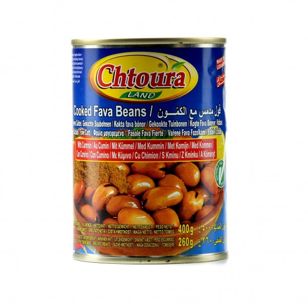 Chtoura land beans With cumin 400g