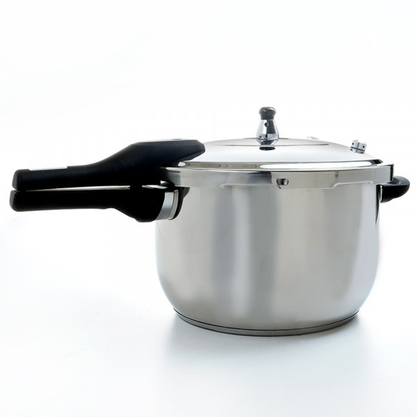 Pressure cooker 8 liters stainless steel