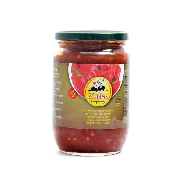 peppers paste Hekayat sity (hot) 650g