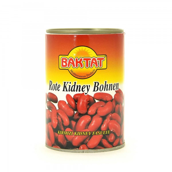 Baktat red kidney beans 425g