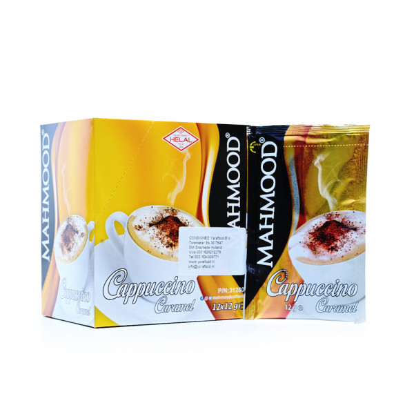 MAHMOOD Cappuccino Flavored with caramel 12 Bags