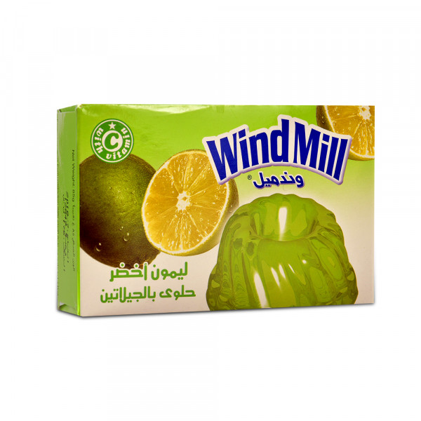 Jelly Halal Lemon WindMill 85 g