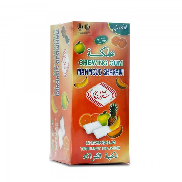 Chewing gum Sharawi 24 pieces Flavor of fruits