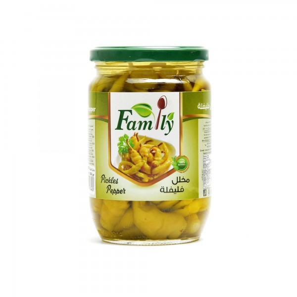 Family Pickled Peppers 650 g