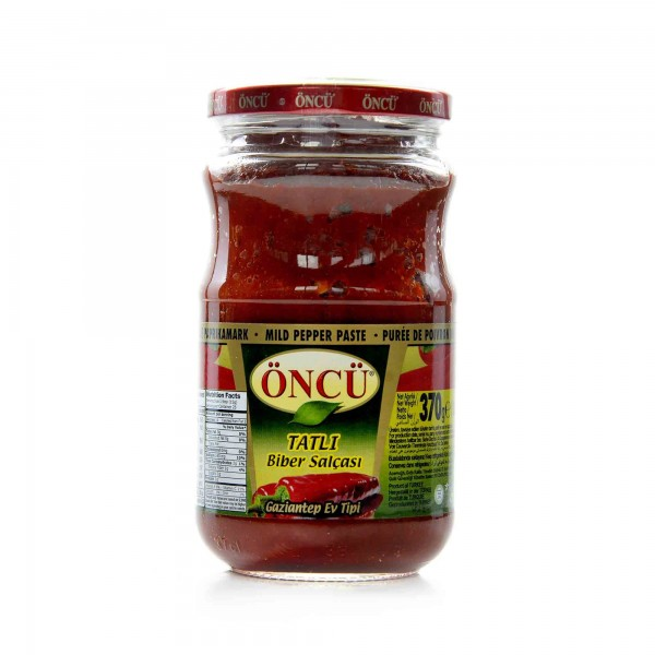 peppers paste ONCO (hot) 370 g