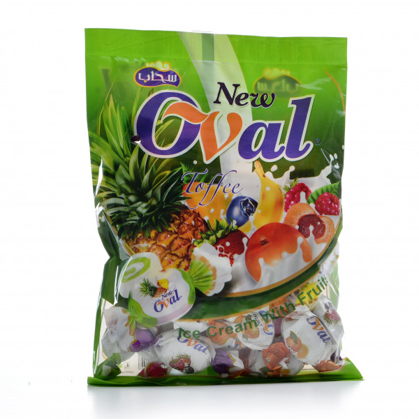 Toffee New Oval Fruits 225 g
