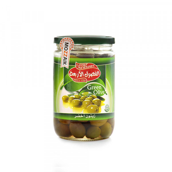 Green Olives four Seasons 650 g