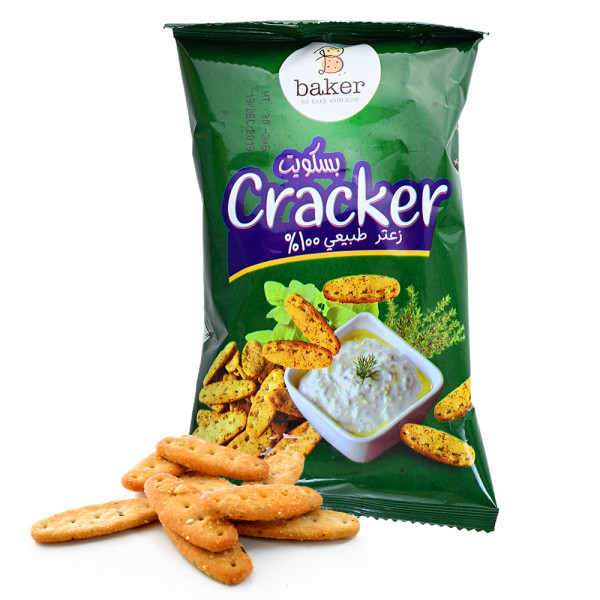 Cracker Biscuit - Natural Thyme - 30 g