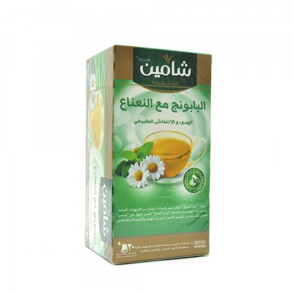 Chamain Chamomile flowers with mint 20 bags