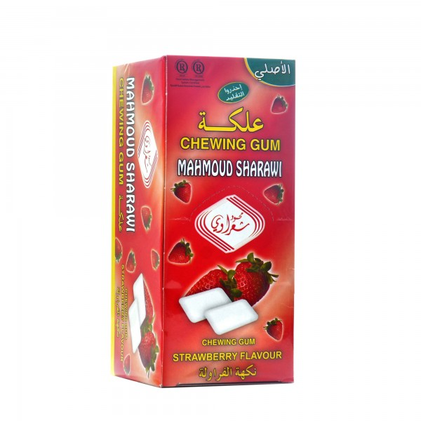 Chewing gum Sharawi 192 pieces Strawberry flavor