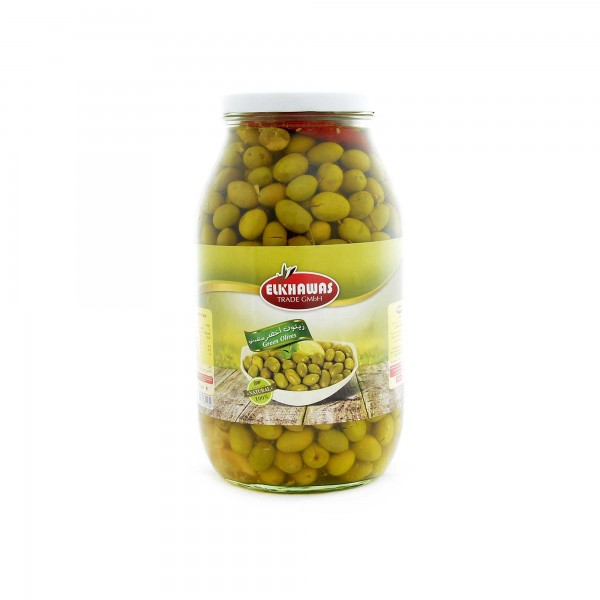 Elkhwas olives green Aleppo (salkini) 1300g