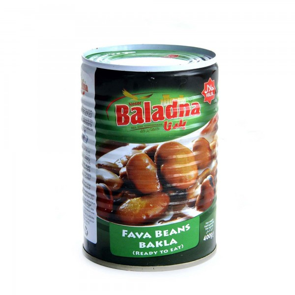 Baladna cooked fava beans 400g