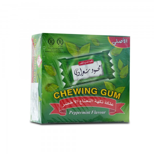 Chewing gum Sharawi 100 pieces Green mint flavor