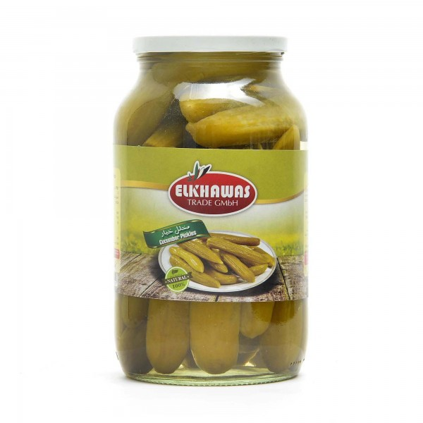 Elkhawas pickled cucumber 1300 g