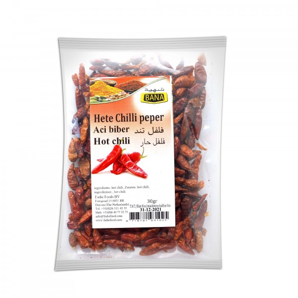 Bana Hot pepper 30 g