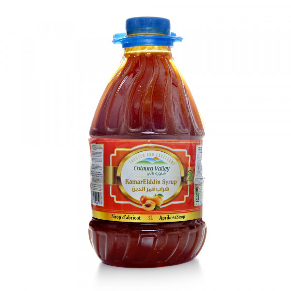 Chtaura Valley Apricot Syrup 3 Liter