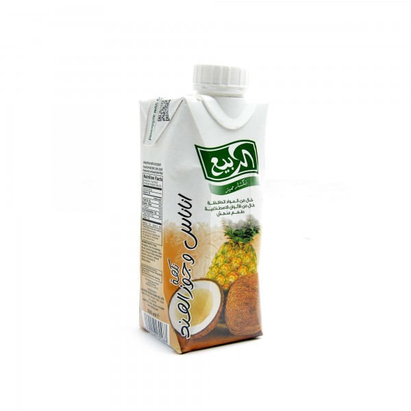 Al Rabii-Flavored with pineapple and coconut 330 ml