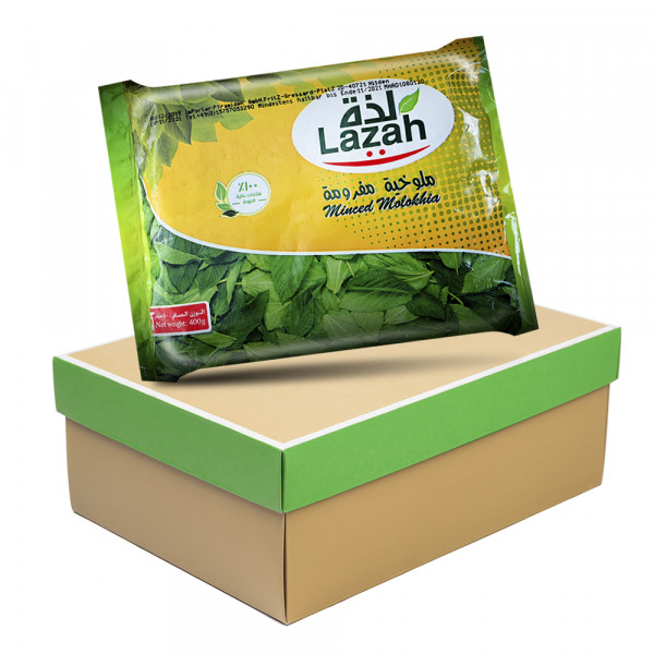 package lazah Minced molokhia 20x 400 g