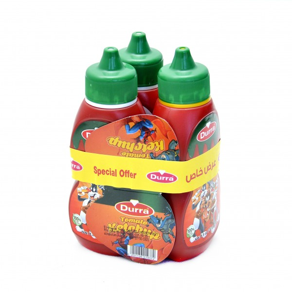 Durra Sweet Ketchup 250 g3 pieces