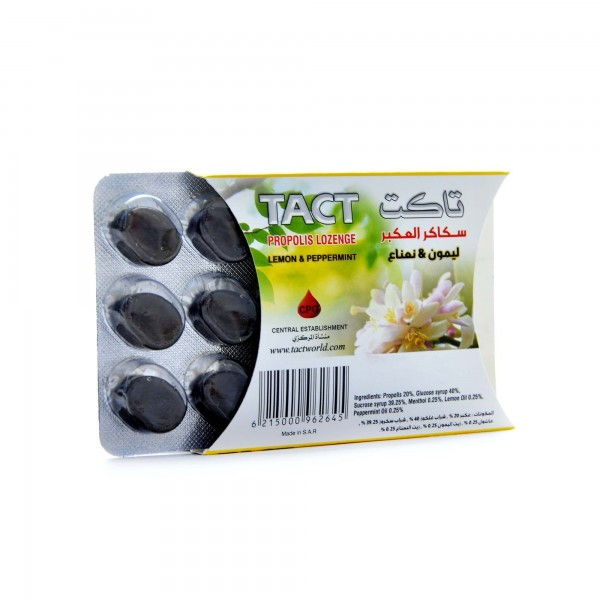 Propolis Lozenge -Lemon + mint -form TAGT
