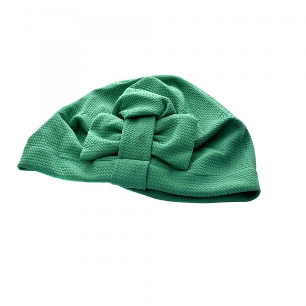 Turban green for modern women veiled