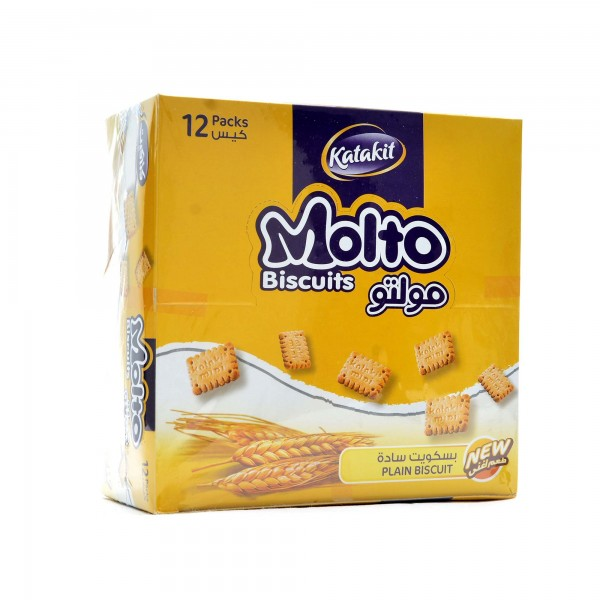 biscuits Molto 12 Packs-Plain